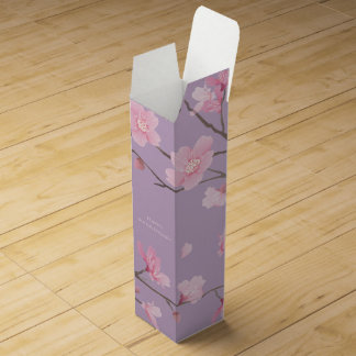 Cherry Blossom - Happy Anniversary Wine Box