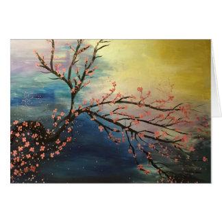 Cherry Blossom Harmony Card