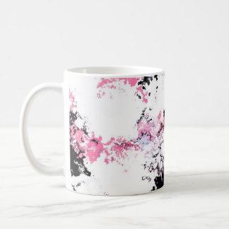 Cherry Blossom in red Coffee Mug
