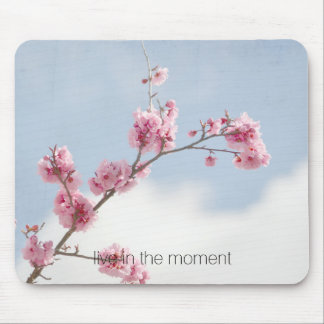 Cherry Blossom in the Sky Mouse Pad