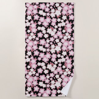 Cherry Blossom - Japanese Sakura- Beach Towel