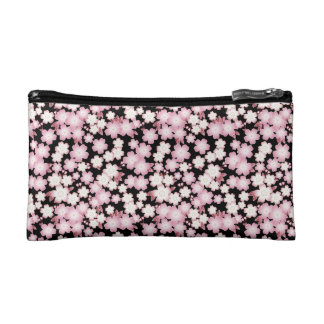 Cherry Blossom - Japanese Sakura- Makeup Bag