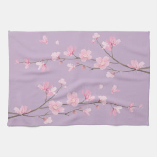 Cherry Blossom Kitchen Towel