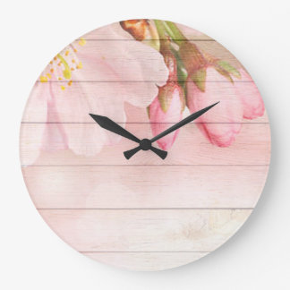 Cherry Blossom Large Clock