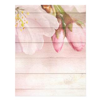 Cherry Blossom Letterhead