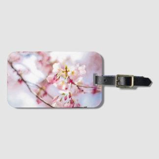 Cherry Blossom Luggage Tag