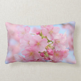 Cherry blossom lumbar pillow