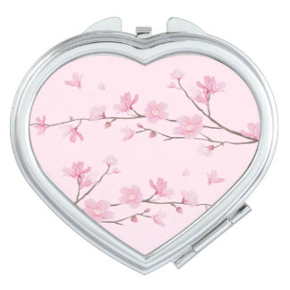 Cherry Blossom Makeup Mirrors