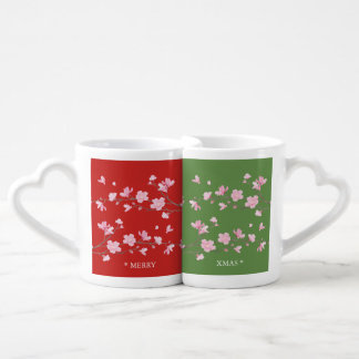 Cherry Blossom - Merry Xmas Coffee Mug Set
