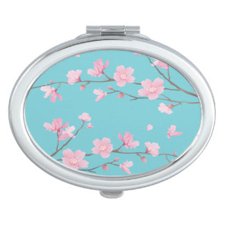 Cherry Blossom Mirrors For Makeup