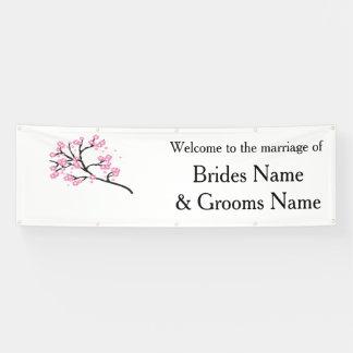 Cherry Blossom Modern Simple Elegant WeddingIdeas Banner