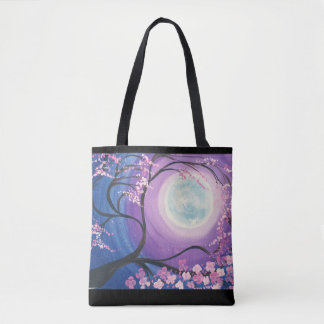 Cherry Blossom Moon Tote