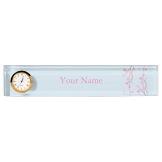Cherry Blossom Name Plate