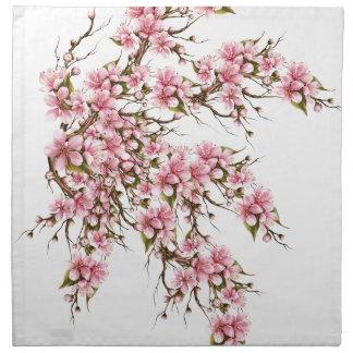 Cherry Blossom Napkin