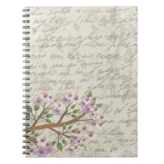 Cherry blossom notebooks