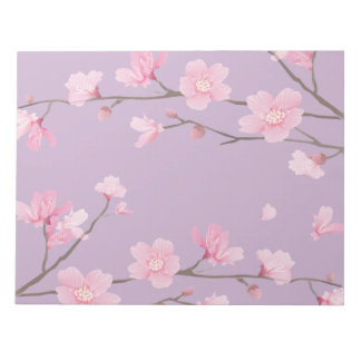 Cherry Blossom Notepad
