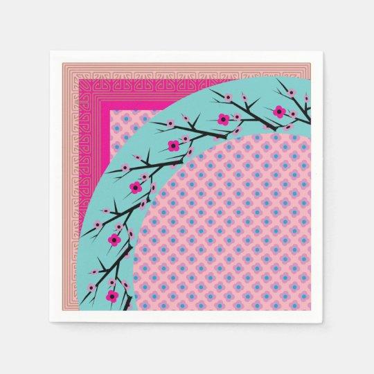 Cherry Blossom Paper Napkin
