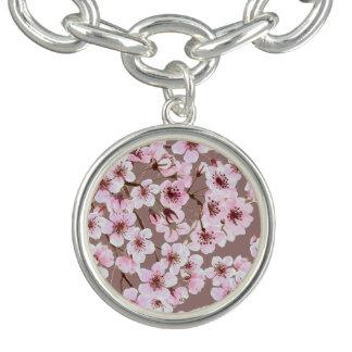Cherry blossom pattern bracelets