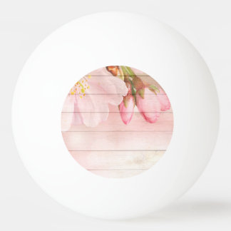 Cherry Blossom Ping Pong Ball
