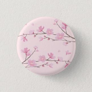 Cherry Blossom - Pink 1 Inch Round Button