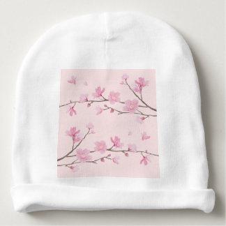 Cherry Blossom - Pink Baby Beanie