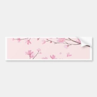 Cherry Blossom - Pink Bumper Sticker