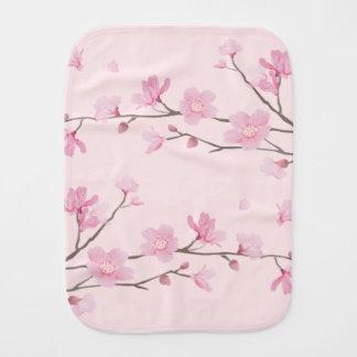 Cherry Blossom - Pink Burp Cloth