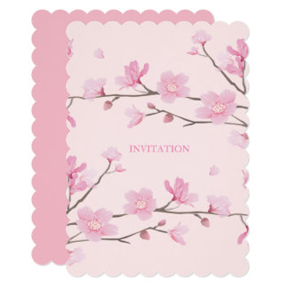 Cherry Blossom - Pink Card
