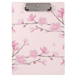 Cherry Blossom - Pink Clipboard