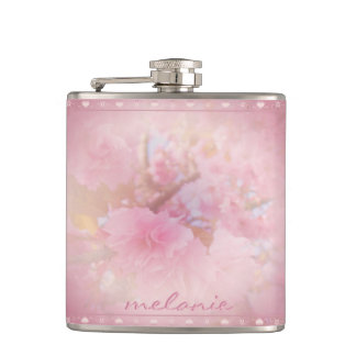 Cherry Blossom Pink Flask