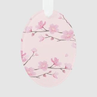 Cherry Blossom - Pink - HAPPY BIRTHDAY Ornament