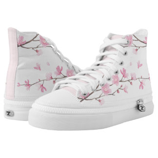 Cherry Blossom - Pink High Tops