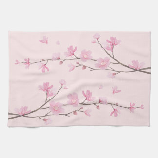 Cherry Blossom - Pink Kitchen Towel