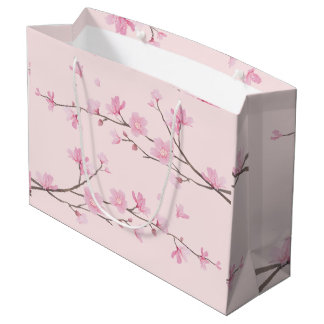 Cherry Blossom - Pink Large Gift Bag