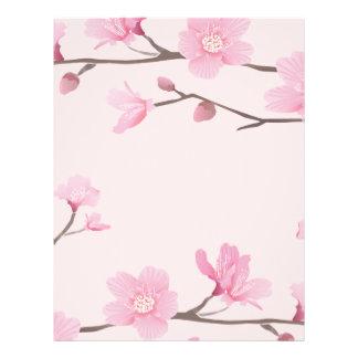 Cherry Blossom - Pink Letterhead