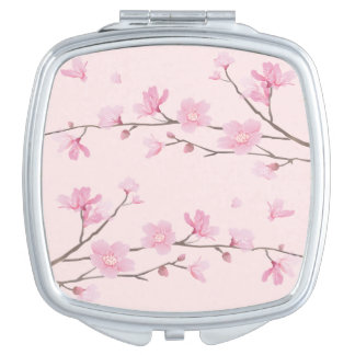Cherry Blossom - Pink Mirrors For Makeup