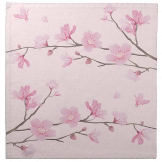 Cherry Blossom - Pink Napkin