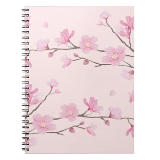 Cherry Blossom - Pink Notebook