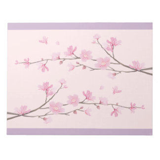 Cherry Blossom - Pink Notepad