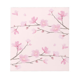 Cherry Blossom - Pink Notepads