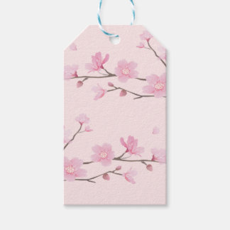 Cherry Blossom - Pink Pack Of Gift Tags