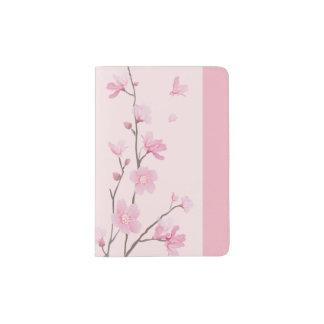 Cherry Blossom - Pink Passport Holder