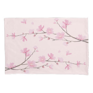 Cherry Blossom - Pink Pillowcase
