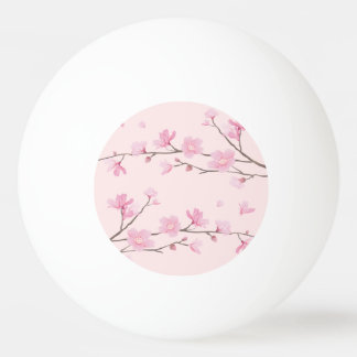 Cherry Blossom - Pink Ping-Pong Ball
