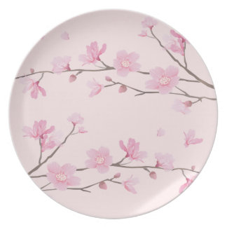 Cherry Blossom - Pink Plate
