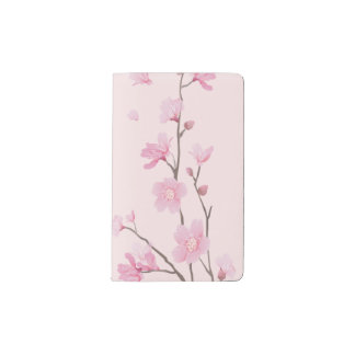 Cherry Blossom - Pink Pocket Moleskine Notebook