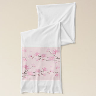 Cherry Blossom - Pink Scarf