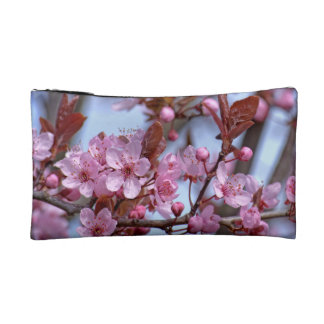 Cherry Blossom Pink Style Cosmetic Bags