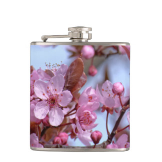 Cherry Blossom Pink Style Flasks