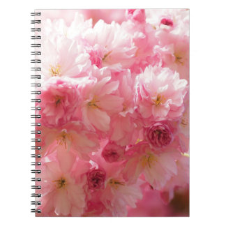 Cherry Blossom Pink Style Notebooks